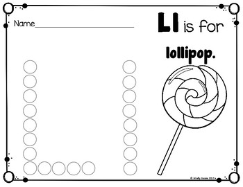 Alphabet Dot Pack