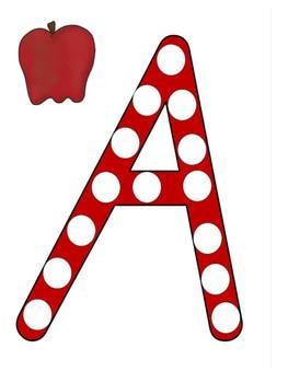 Alphabet Dot Pack - NSW Font