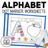 Alphabet Letters A to Z Dot Marker Worksheets