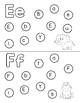 Alphabet Dot Sheets