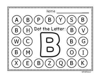 Alphabet Dot The Letter