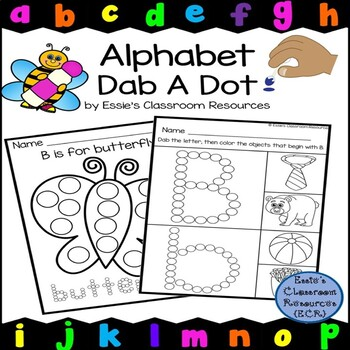 Alphabet Dot and Trace Cards