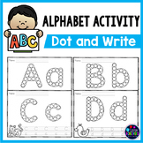 Alphabet Dab | Alphabet Worksheets - Dot the letters