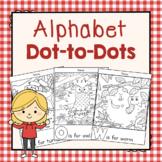 Alphabet Dot to Dot Activities: Preschool Letters of the Week