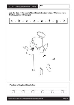 Alphabet Dot-to-Dot Activity Sheets (29 pages)