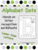Alphabet Dots - Lower Case Letters