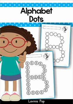 Alphabet Dots Worksheets Upper Case Letters