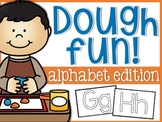 Alphabet Dough Fun Mats
