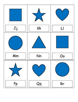 Alphabet Draw 4 card game