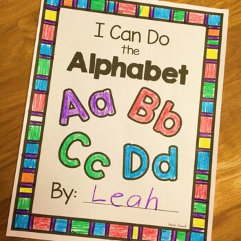 Alphabet- Draw Pictures to Match Letter - Kindergarten and Pre-K