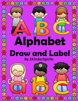 Alphabet Draw and Label