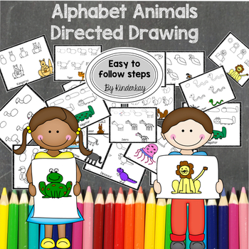 Alphabet Animals Directed Drawing