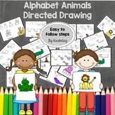 Alphabet Animals Directed Drawing