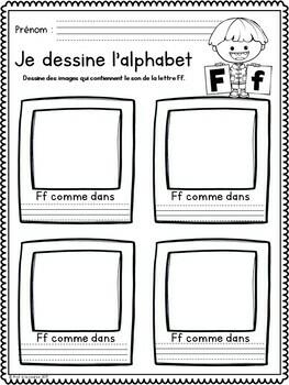Alphabet Drawings/ Dessins de l'alphabet