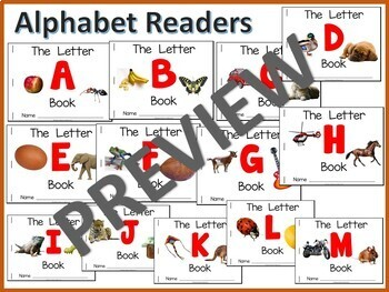 Alphabet Early Readers (A-M)