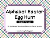 Alphabet Easter Egg Hunt (English)