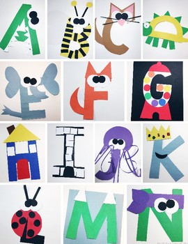 Alphabet Easy Art Crafts By Teaching Special Thinkers Gabrielle Dixon