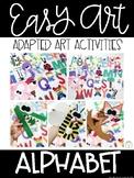 Alphabet Easy Art Crafts