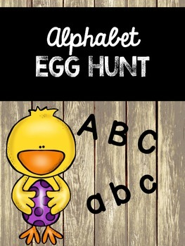 Alphabet Egg Hunt