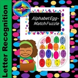 Alphabet Egg - Match Puzzle (Self-Correcting)