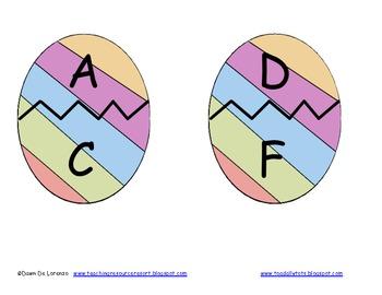 Alphabet Eggs and Chicks