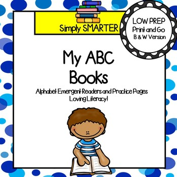 Alphabet Letter Emergent Reader Books and Alphabet Letter Worksheets (A-Z)