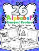 Alphabet Emergent Reader Bundle {26 Readers!}