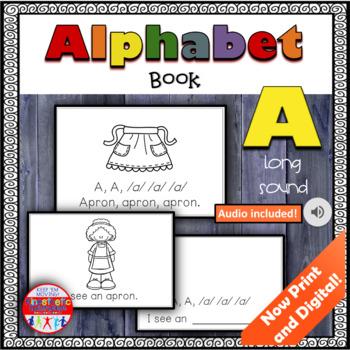 Alphabet Books - Letter Sounds Emergent Reader - A (long)