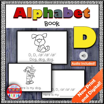 Alphabet Books - Letter Sounds Emergent Reader - D