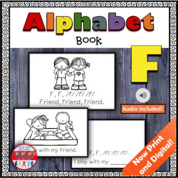 Alphabet Books - Letter Sounds Emergent Reader - F