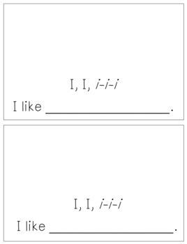 Alphabet Books - Letter Sounds Emergent Reader - I (long)