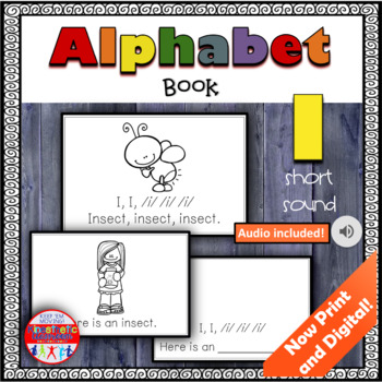 Alphabet Books - Letter Sounds Emergent Reader - I (short)