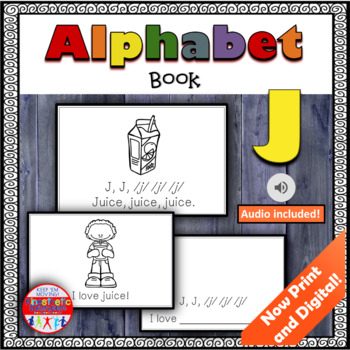 Alphabet Books - Letter Sounds Emergent Reader - J