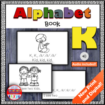 Alphabet Books - Letter Sounds Emergent Reader - K