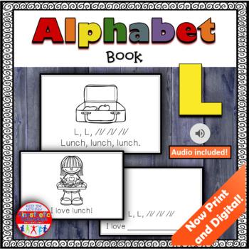 Alphabet Books - Letter Sounds Emergent Reader - L