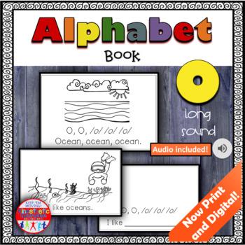 Alphabet Books - Letter Sounds Emergent Reader - O (long)