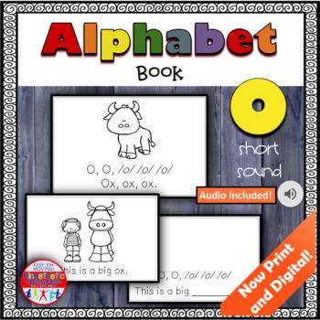 Alphabet Books - Letter Sounds Emergent Reader - O (short)