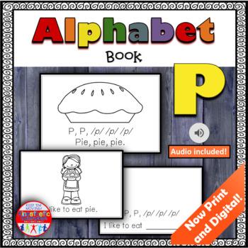 Alphabet Books - Letter Sounds Emergent Reader - P