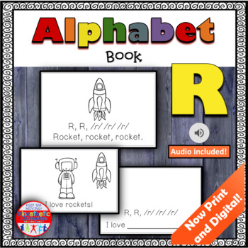 Alphabet Books - Letter Sounds Emergent Reader - R