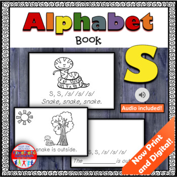 Alphabet Books - Letter Sounds Emergent Reader - S