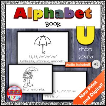 Alphabet Books - Letter Sounds Emergent Reader - U (short)