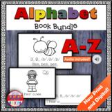 Alphabet Printable Books Bundle Digital Learning Google Cl