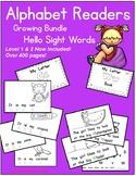 Alphabet Emergent Readers Bundle - Hello Sight Words!