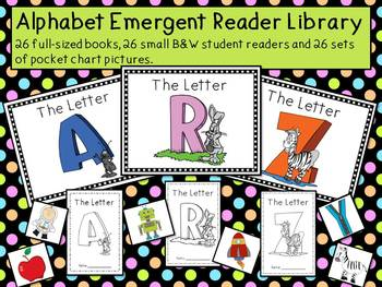 Alphabet Emergent Reader Library