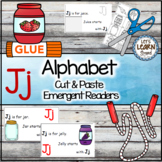Letter J Alphabet Emergent Reader and Cut and Paste Activities Reader