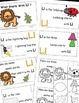 Letter L Alphabet Emergent Reader and Cut and Paste Activities Reader