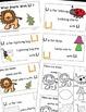 Letter L Alphabet Emergent Reader and Cut and Paste Activi