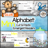 Letter M Alphabet Emergent Reader and Cut and Paste Activities Reader