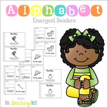 Alphabet Emergent Readers!
