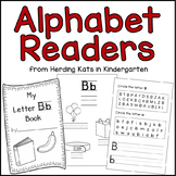 Alphabet Emergent Readers